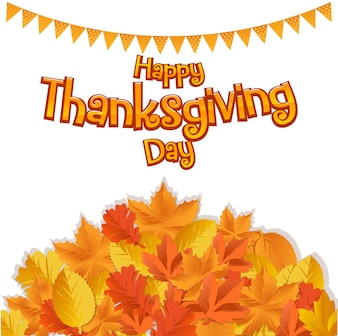 Thankgiving greeting card and background decoration