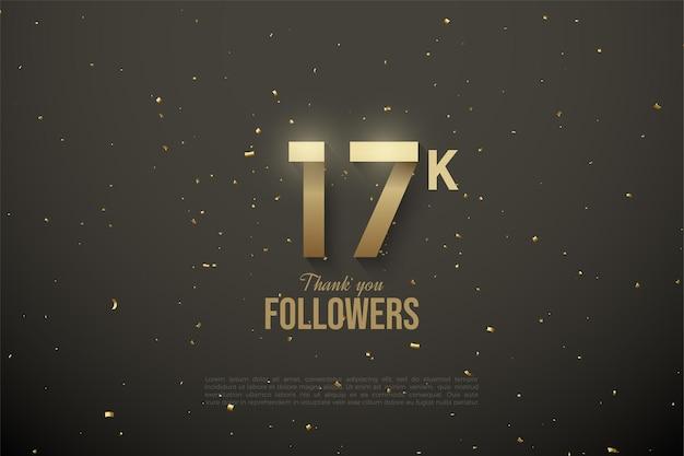 Спасибо 17k подписчикам с узорными номерами