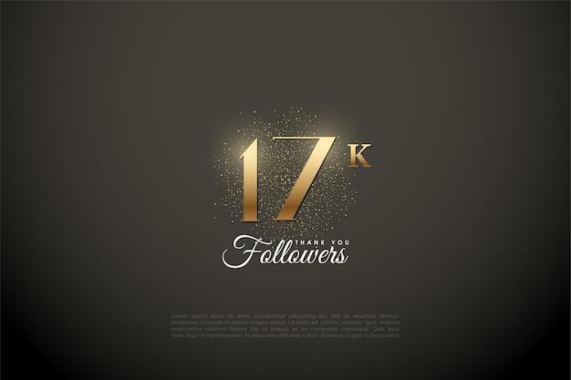 Спасибо 17k подписчикам с блестящими цифрами