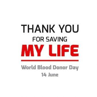 Donazione di sangue giornata mondiale