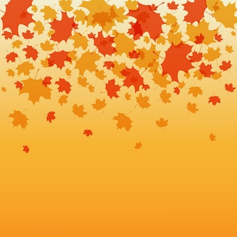 Thanksgiving background vector illustration autumn background for postcard poster card eps 10