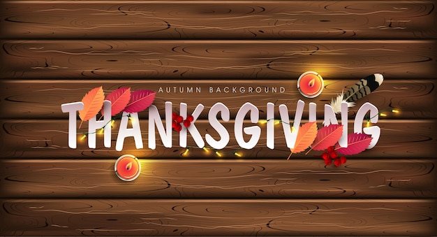 Thanksgiving day background.