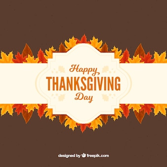 Thanksgiving day happy background