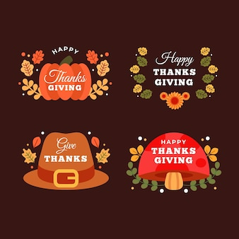 Thanksgiving day instagram labels