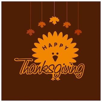 Thanksgiving day logo design