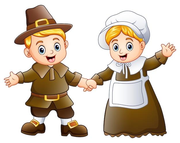 巡礼者の恋人の感謝祭の日