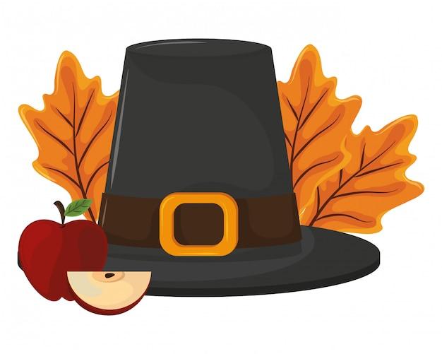 Thanksgiving day pilgrim hat
