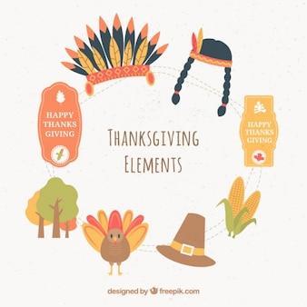 Elementi del ringraziamento
