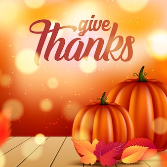 Thanksgiving flyer or poster template