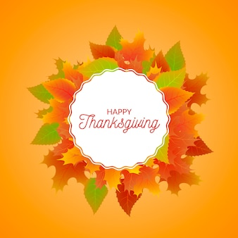 Thanksgiving realistic background