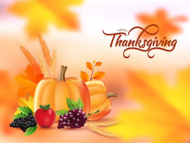 Thanksgiving sale banner or poster.
