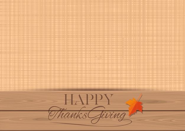 Thanksgiving vintage background with free space for text. happy thanksgiving background