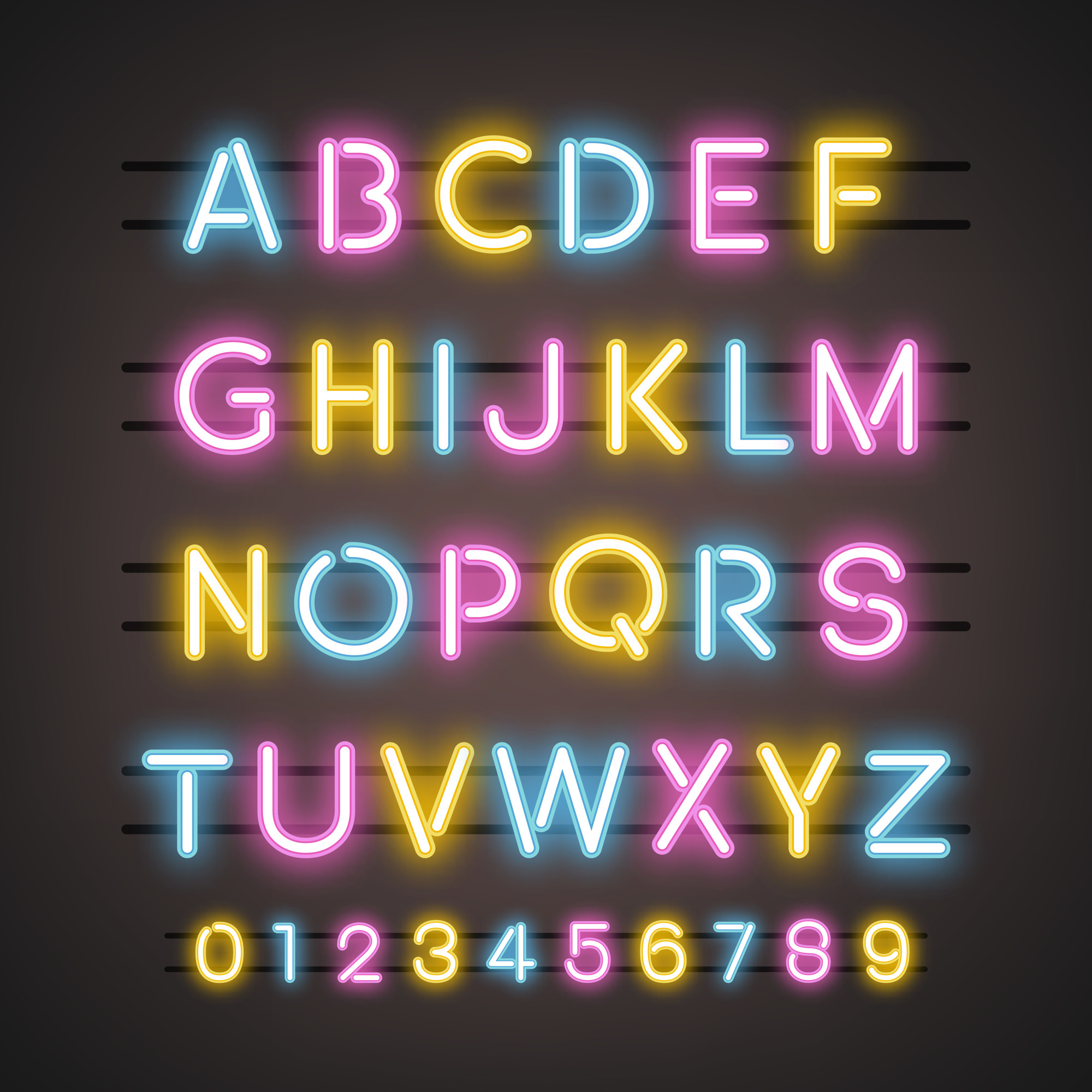 The Alphabet and numeral system