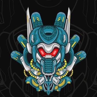 Иллюстрация робота antlers