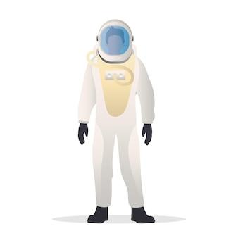 防護服を着た宇宙飛行士