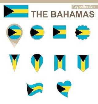 Коллекция флагов багамских островов, 12 версий