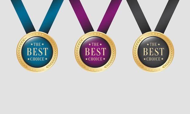 最高の金メダルセット