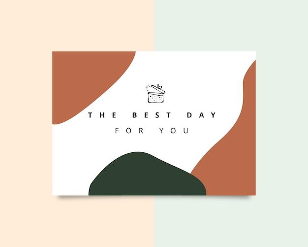 당신을 위한 최고의 날인사말 카드 디자인