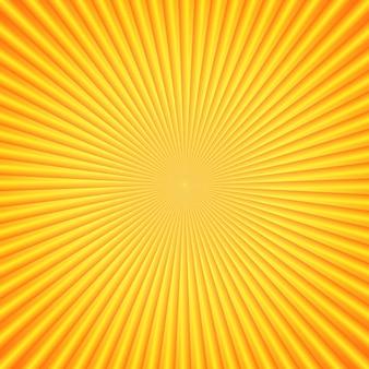 明るい太陽光線。オレンジ色。あなたのデザインの要素。明るいテンプレート。ベクトルイラスト。