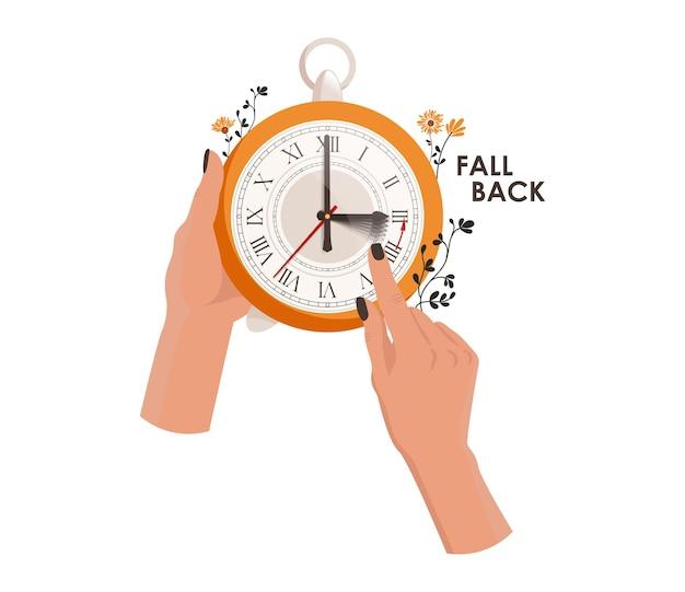 Часы переводятся на один час вперед, переходя на летнее время
