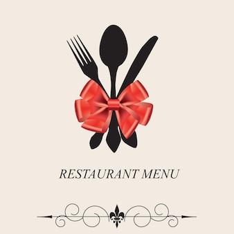 レストランメニューのコンセプト。
