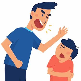 가족의 폭력과 학대의 개념
