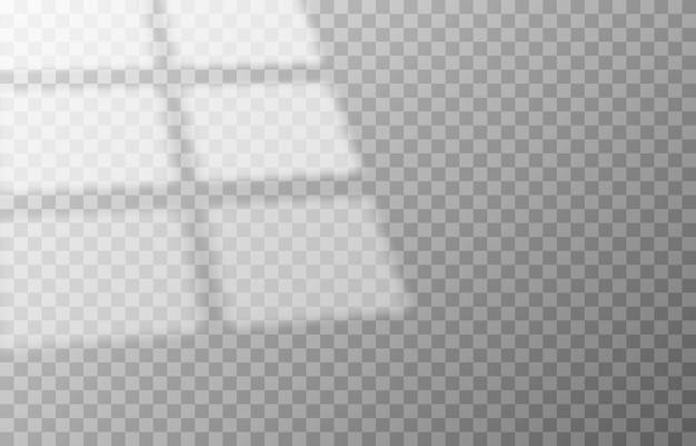 Эффект наложения теней тень от разных типов окон реалистичная светлая тень от