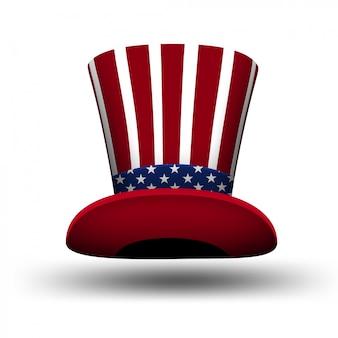 要素のアメリカ国旗の装飾7月4日のお祝いの独立記念日