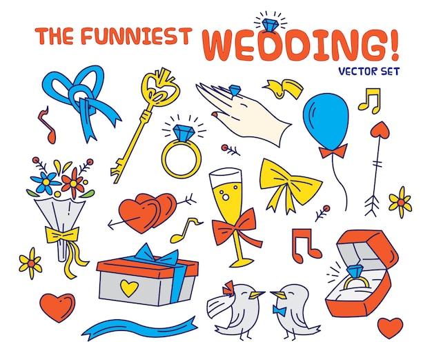 Самый смешной свадебный набор