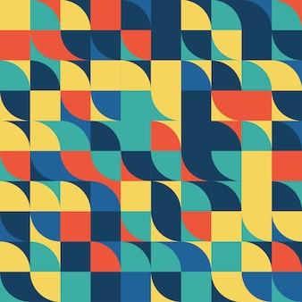 ストライプの幾何学模様。シームレスな背景