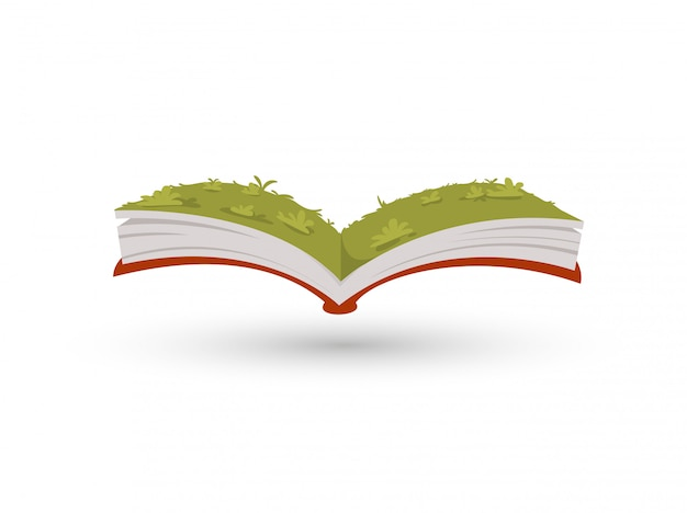 이 책의 잔디 정원