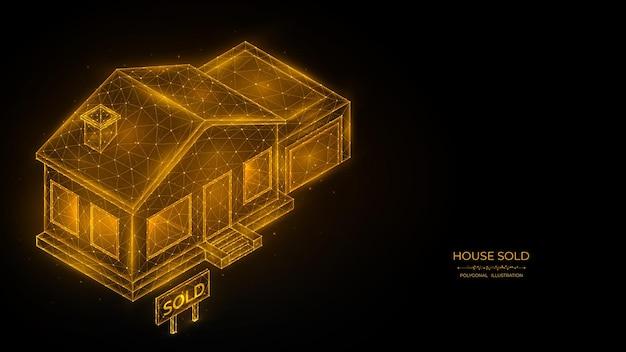 집 판매 부동산 개념