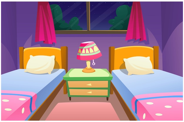 Образ спальни очень красивый.