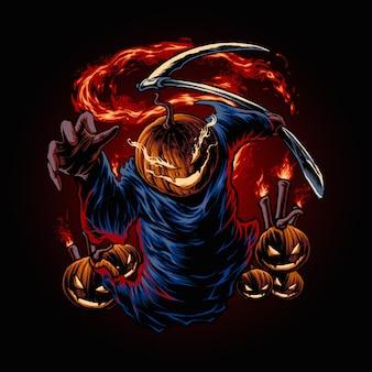 Джек о фонарь хэллоуин