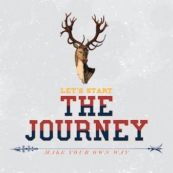 Вектор дизайна логотипа путешествия