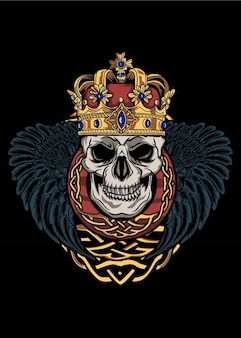 왕의 해골