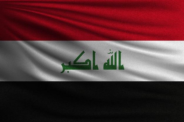 イラクの国旗。