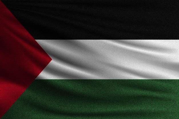 パレスチナの国旗。