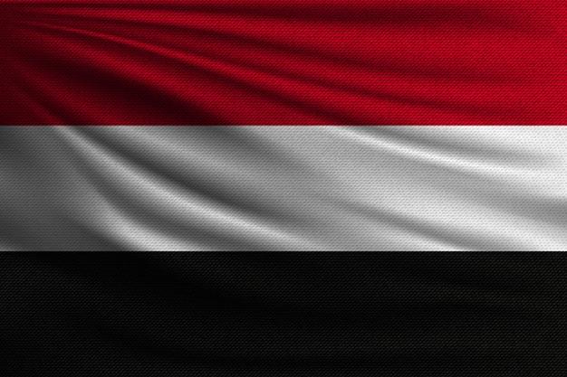 イエメンの国旗。