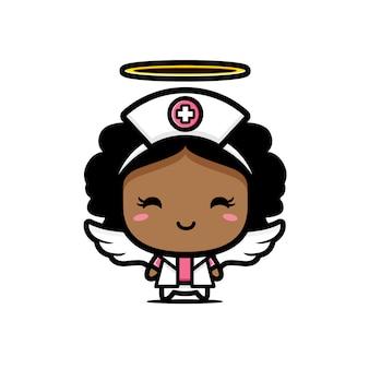 看護師のデザインは天使です