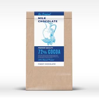 오리지널 밀크 초콜릿.