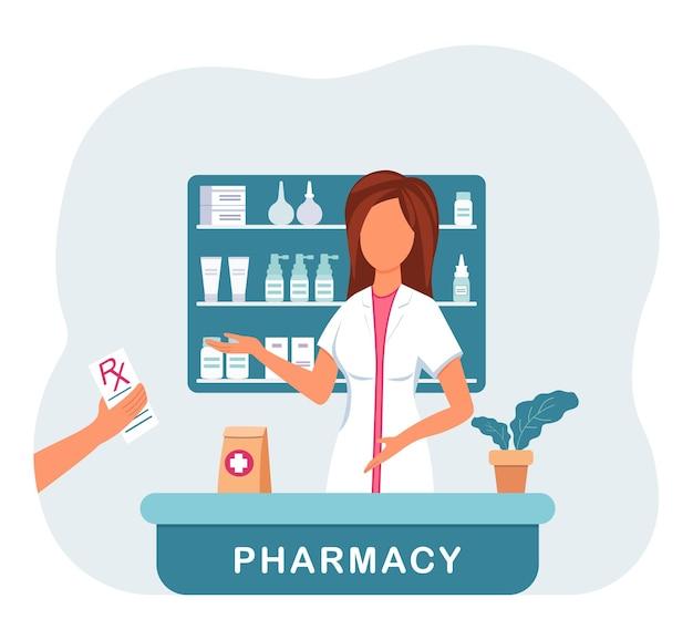 Пациент покупает таблетки в форме rx.