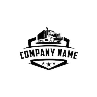 Идеальный логотип для бизнеса, связанного с транспортно-экспедиторской отраслью.