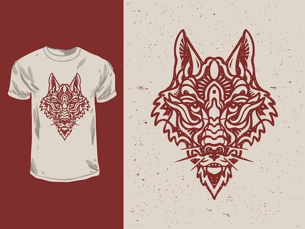 Винтажный монолин red fox