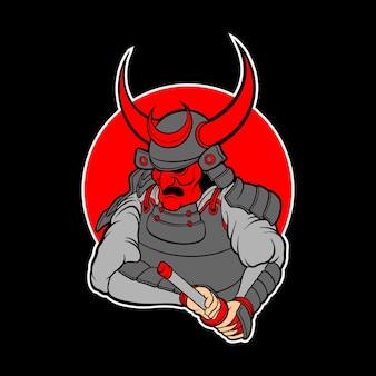 붉은 사무라이