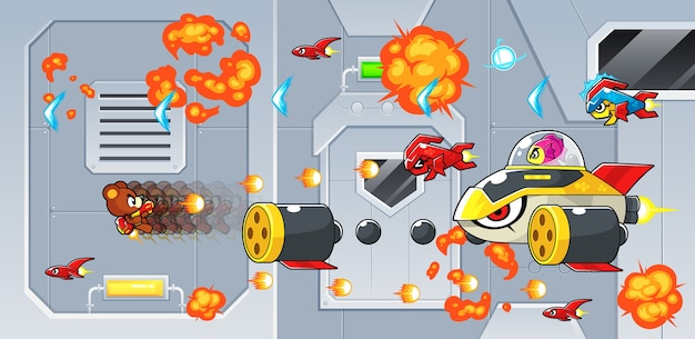 Rocketeersゲームアセット