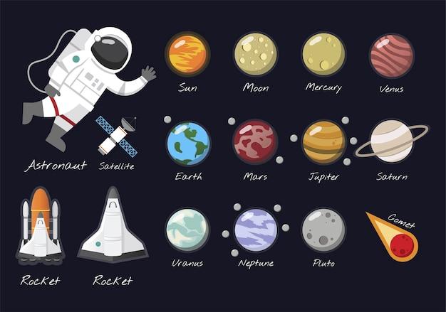 태양계 벡터