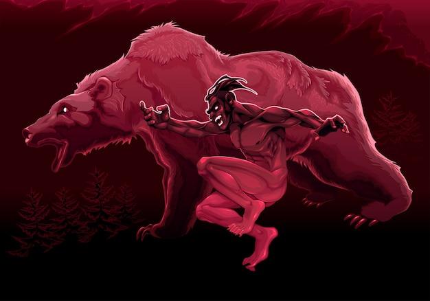 クマの精神