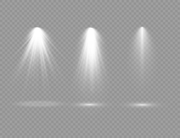 舞台照明専用レンズフラッシュライトエフェクトライトランプやスポットライト下のスポットライトシーン表彰台にスポットライトが当たる