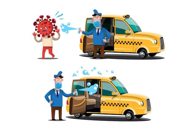 대중 교통에서 코로나 바이러스의 확산
